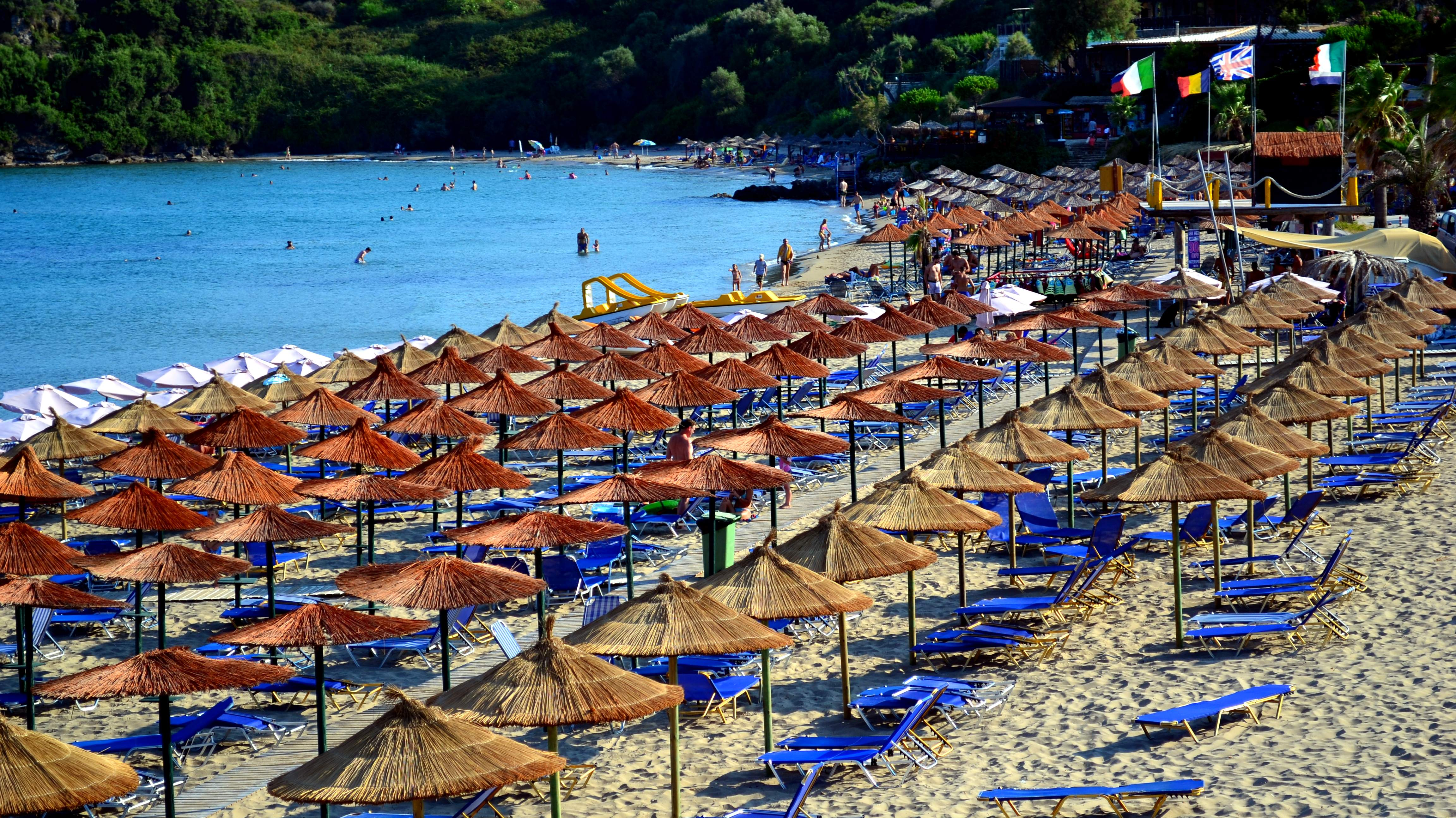 Right next to Banana beach at Vasilikos, you'll find Agios Nikolaos beach (Ammos). This is one of the best beaches in Zante - with perfect fine...